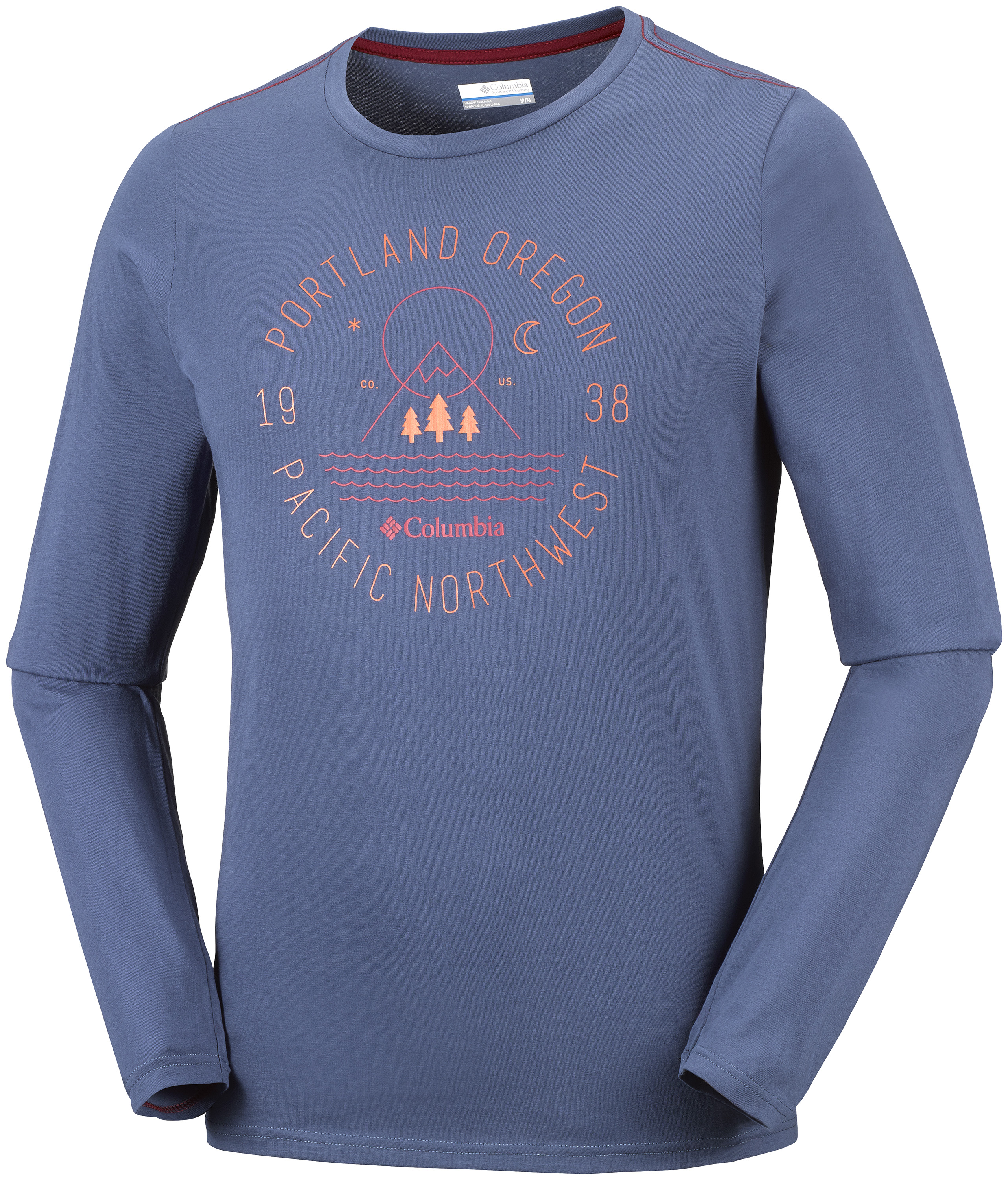 EM0064-478 COLUMBIA MILL CREEK LONG SLEEVE TSHIRT
