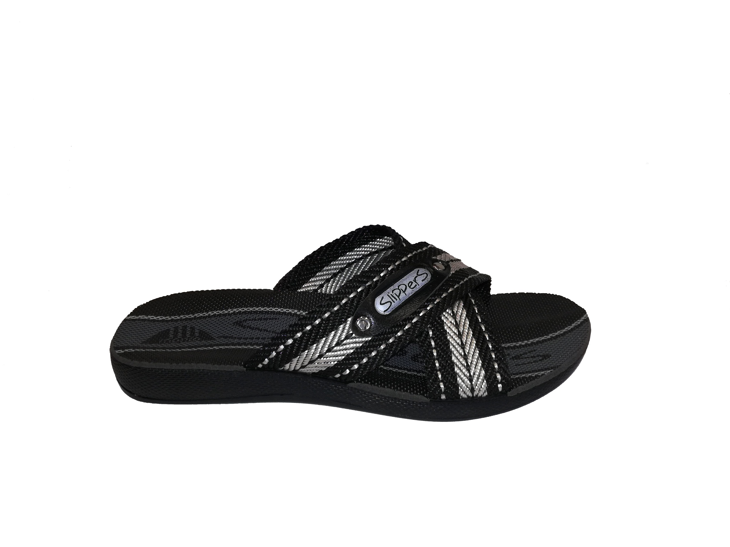 81730 Mne SLIPPERS BLACK